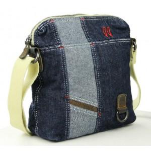 canvas leather satchel