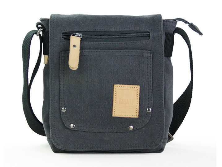 Men canvas satchel bags, mens small canvas shoulder bag - YEPBAG