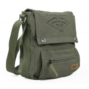 army canvas shoulder bag