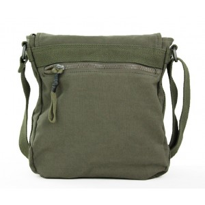 army green canvas shoulder bag