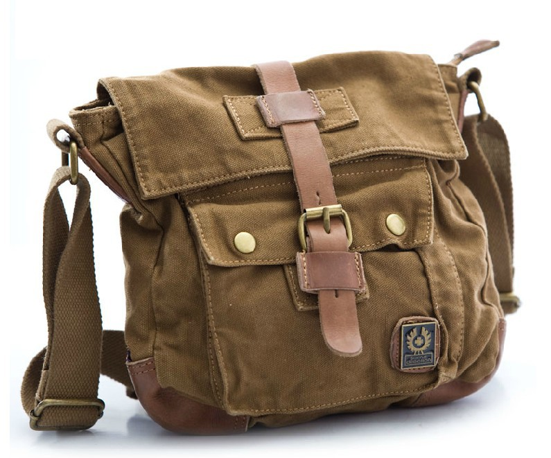 Small canvas messenger bag, mens canvas messenger bags - YEPBAG