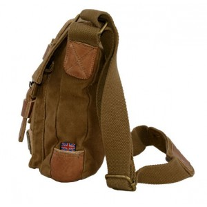 khaki mens canvas messenger bags