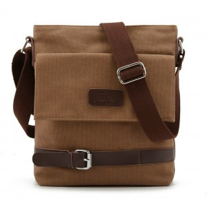 IPAD mens canvas satchels, canvas leather messenger bag