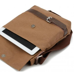 IPA mens canvas satchels, canvas leather messenger bag