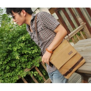 mens canvas satchels
