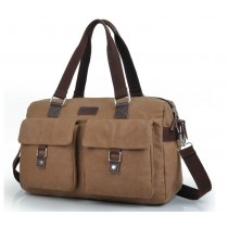 Canvas messenger bag for men