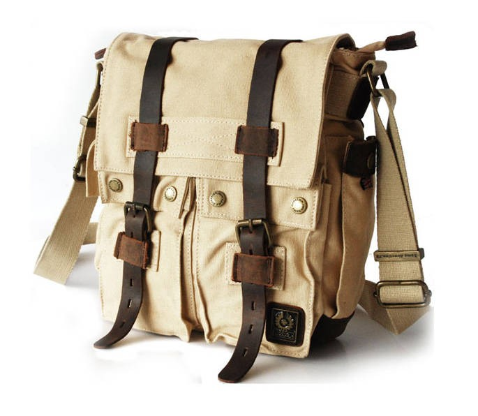 Canvas messenger bag men, cool messenger bags - YEPBAG