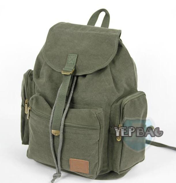 Girly canvas backpacks