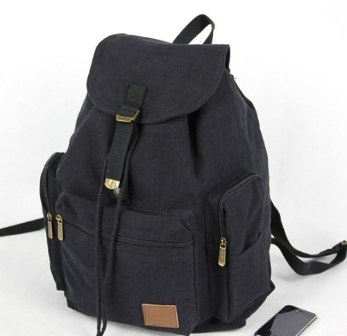 Canvas backpack for students. Ideal for carrying your books and laptop computer. Spice up your style with this awesome backpack. In 6 beautiful colors, suitable for both girls and boys this students' canvas backpack is born for joyful and energetic people like you. Order yours NOW!!