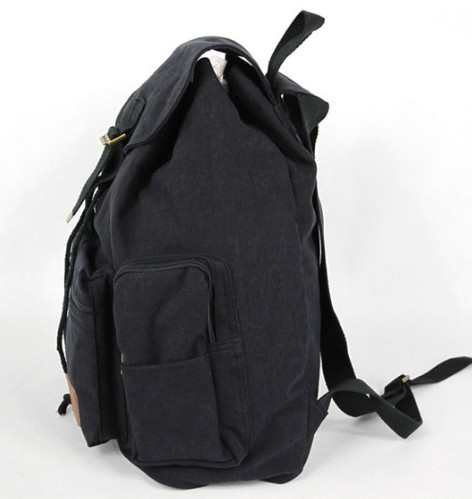 Canvas backpack for girls, canvas knapsack backpack - YEPBAG
