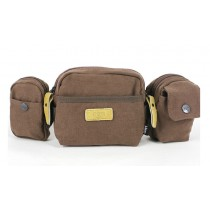 Mens fanny packs, canvas waist pack