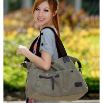 Cute shoulder bag, handbag canvas