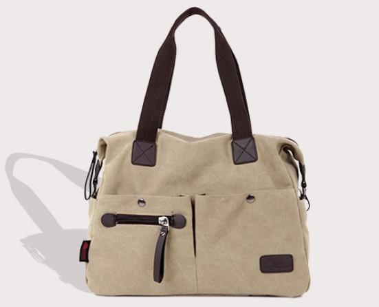 Cute shoulder bag, handbag canvas - YEPBAG
