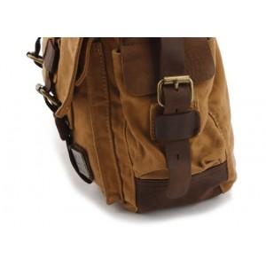 khaki urban messenger bag