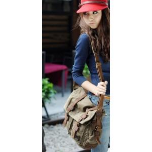 canvas urban messenger bag