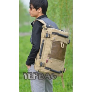 khaki Personalized canvas bags