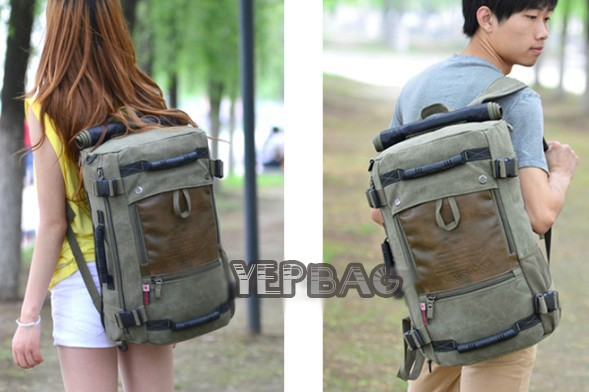 Personalized canvas bags, best laptop backpack - YEPBAG