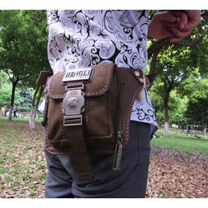 mens Retro fanny packs