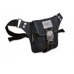black Retro fanny packs