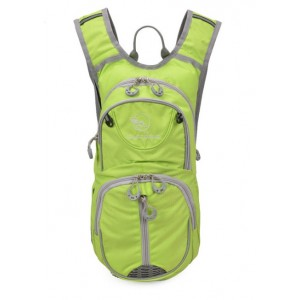 green Bicycle backpack