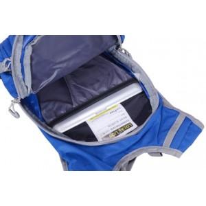 blue satchel backpack