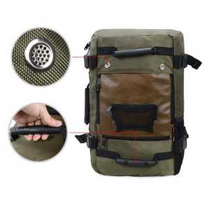 army green Camping backpack