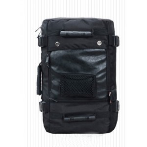 black Camping backpack