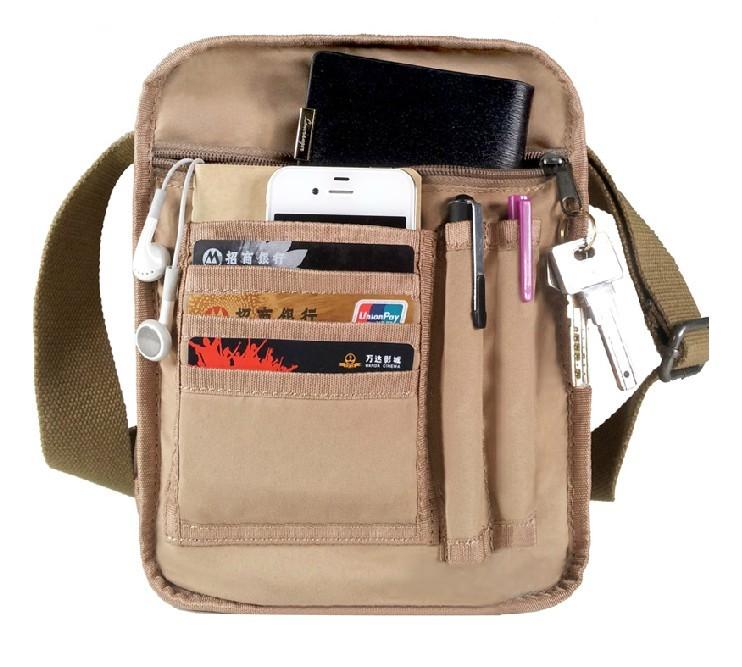 Black canvas satchel, cheap canvas messenger bag - YEPBAG