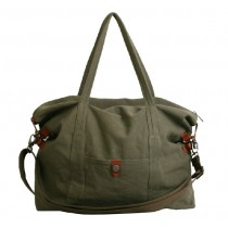 Ladies canvas satchels, large tote bag for travel