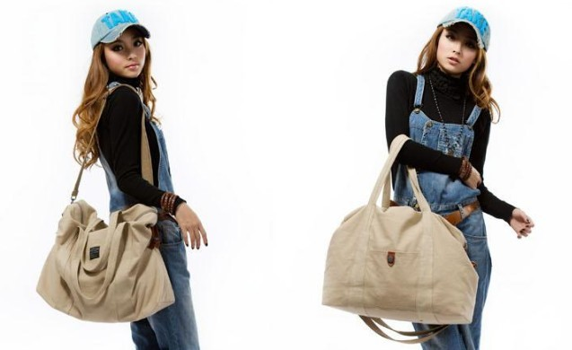 1128bea646 ... apricot large tote bag for travel  Ladies canvas satchels apricot ...