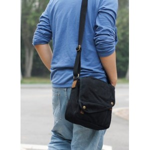 Canvas messenger bag for men, canvas shoulder bags for men - YEPBAG