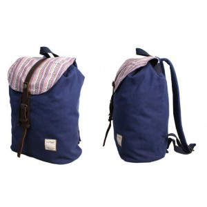 backpack style purse blue