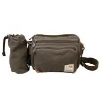 Ladies canvas satchel bag, small canvas messenger bags for men