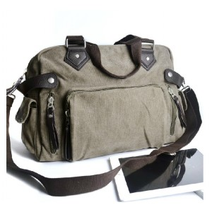 Mens messenger bag, canvas handbags and totes