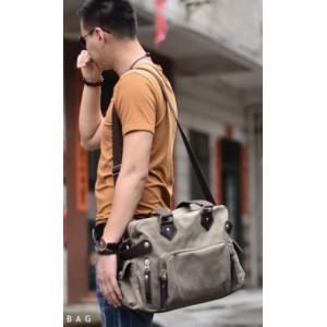 canvas Mens messenger bag