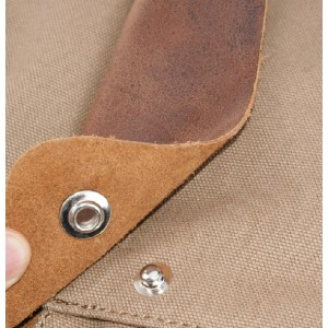 canvas Mini backpack purse