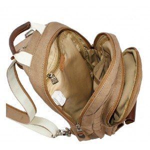 canvas urban sling bag