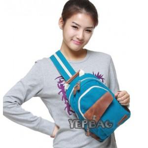 blue urban sling bag