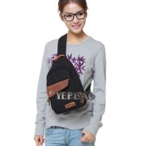 black urban sling bag