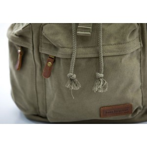 army green motorcycle backpack