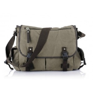 Canvas messenger bag men, canvas shoulder bags