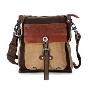 Retro messenger bag, school bags
