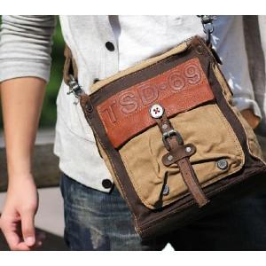 mens Retro messenger bag