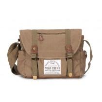 Recycled messenger bag, satchel messenger bag