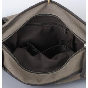 coffee canvas shoulder bags
