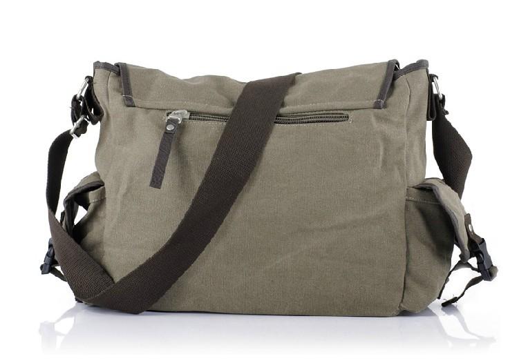 Canvas Messenger Bag for Men  Leather Mens Messenger Bags