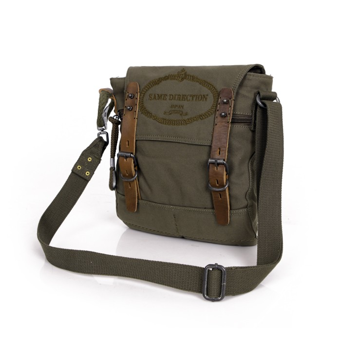Messenger Bags For College Students Men Canvas