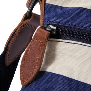 blue Messenger bag small