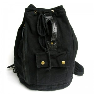 black canvas backpack men