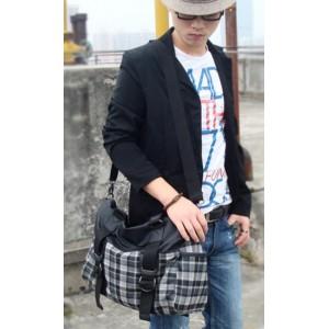 grey Messenger bags for men for school